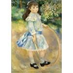 Puzzle  Grafika-Kids-01317 Auguste Renoir : Fillette au cerceau, 1885