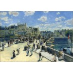 Puzzle  Grafika-Kids-01332 Auguste Renoir : Pont Neuf, Paris, 1872