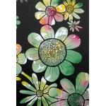 Puzzle  Grafika-Kids-01394 Pièces XXL - Doodle de Fleurs
