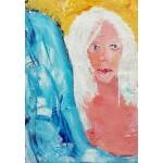 Puzzle  Grafika-Kids-01412 La Jeune Femme aux Cheveux Blancs