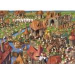 Puzzle  Grafika-Kids-01457 François Ruyer - Lapins !