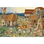 Puzzle  Grafika-Kids-01462 Pièces XXL - François Ruyer - Ferme