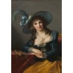 Puzzle  Grafika-Kids-01483 Louise-Élisabeth Vigee le Brun : Comtesse de Segur, 1785