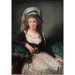 Puzzle  Grafika-Kids-01484 Louise-Élisabeth Vigee le Brun : Madame d'Aguesseau de Fresnes, 1789