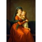 Puzzle  Grafika-Kids-01486 Louise-Élisabeth Vigee le Brun : Princesse Alexandra Golitsyna et son fils Piotr, 1794