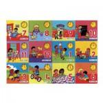 Puzzle  James-Hamilton-716 Apprendre l'heure (en Anglais)