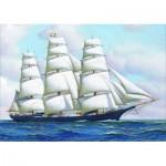 Puzzle  Gold-Puzzle-60775 Antonio Jacobsen: Clipper Ship