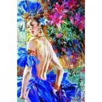 Puzzle  Gold-Puzzle-61086 Magnifique Femme de Cabaret