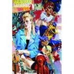 Puzzle  Gold-Puzzle-61109 Cabaret