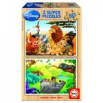 Educa-13144 2 Puzzles - Mes amis animaux