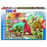 Puzzle  Educa-13179 Les Dinosaures