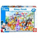 Puzzle  Educa-13289 Le défilé Disney