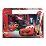 Puzzle  Educa-14940 Cars 2 : Flash McQueen à Tokyo