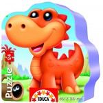 Educa-14960 Puzzle Forme - Dinos