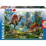 Puzzle  Educa-16366 Dinosaures
