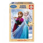 Educa-16373 Puzzle en Bois - La Reine des Neiges
