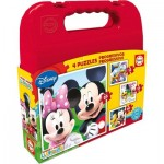 Educa-16505 4 Puzzles - Mickey Mouse Club House