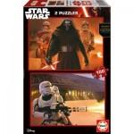 Educa-16521 2 Puzzles - Star Wars