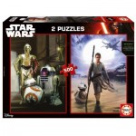 Educa-16523 2 Puzzles - Star Wars