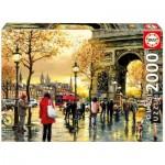 Puzzle  Educa-16778 Arc de Triomphe, Paris