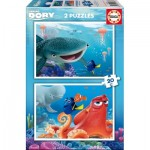 Educa-16878 2 Puzzles - Finding Dory