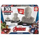 Educa-16884 Puzzle 3D - Iron Man