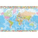 Puzzle  Educa-17117 Political Worldmap