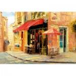 Puzzle  Educa-17123 Hillside Café, Haixa Liu