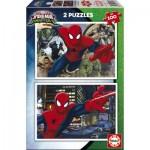 Educa-17171 2 Puzzles - Spider-Man