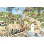 Puzzle  Jumbo-01555 Le terrain de golf