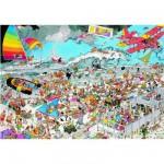 Puzzle  Jumbo-01652 Sur la plage