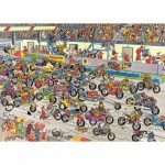 Puzzle  Jumbo-02046 Course de moto
