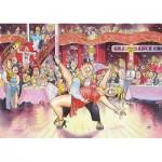 Puzzle  Jumbo-13501 Wasgij Original 17 - Danse de Salon