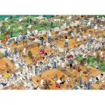 Puzzle  Jumbo-17076 Le court de tennis