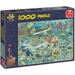 Puzzle  Jumbo-17079 Monde sous-marin