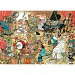 Puzzle  Jumbo-17160 Les artistes