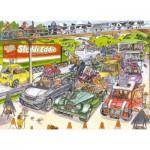 Puzzle  Jumbo-17228 Wasgij 19 - Congestion