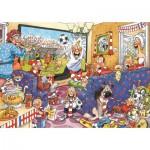 Jumbo-17408 2 Puzzles Wasgij : La Fièvre du Football