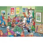 Puzzle  Jumbo-17456 Jan van Haasteren - Chez le Dentiste