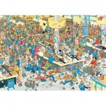 Puzzle  Jumbo-17467 Van Haasteren Jan : Faites la Queue !