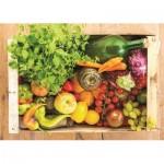 Puzzle  Jumbo-18531 Fruits et Légumes