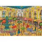 Puzzle  Jumbo-18561 Plaça Reial, Barcelone