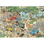 Jumbo-19001 2 Puzzles Jan Van Haasteren : Safari & Tempête