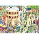 Puzzle  Jumbo-19013 Van Haasteren Jan : L'Evasion