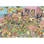 Puzzle  Jumbo-19028 Jan Van Haasteren - Pop Festival