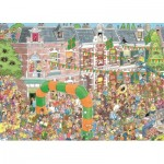 Puzzle  Jumbo-19034 Jan Van Haasteren - Nijmegen Randonnée