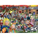 Puzzle  Jumbo-19114 Wasgij Junior - Halloween