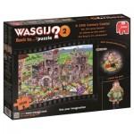 Puzzle  Jumbo-19123 Wasgij Back to... 2 - Un Château du 14ème Siècle