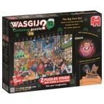 Jumbo-19130 2 Puzzles - Wasgij - Noël