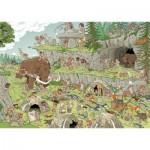 Puzzle  Jumbo-19200 L'âge de pierre